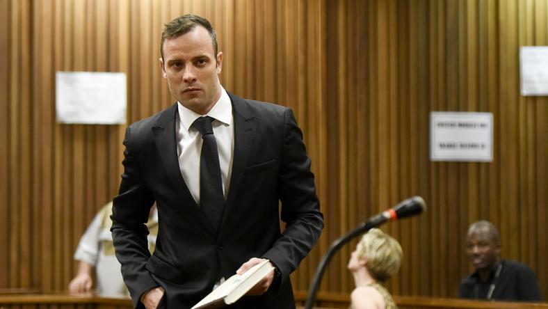 Pistorius akár 15 évre is rács mögé kerülhet /Fotó: AFP