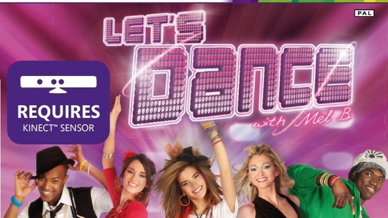 """Okładka gry """"Let's Dance with Mel B."""""""