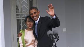 Obama spotyka się w Birmie z prezydentem i przywódczynią opozycji