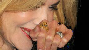 Nicole Kidman w kiepskim makijażu i z zaniedbanymi dłońmi