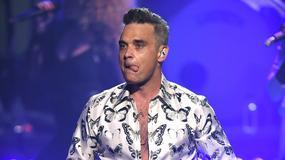 Wulgarny Robbie Williams podczas koncertu