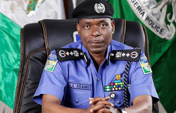 Inspector General of Police Mohammed Adamu (NPF)