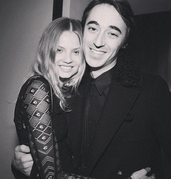 Magda Frąckowiak i Daniele Cavalli/Instagram