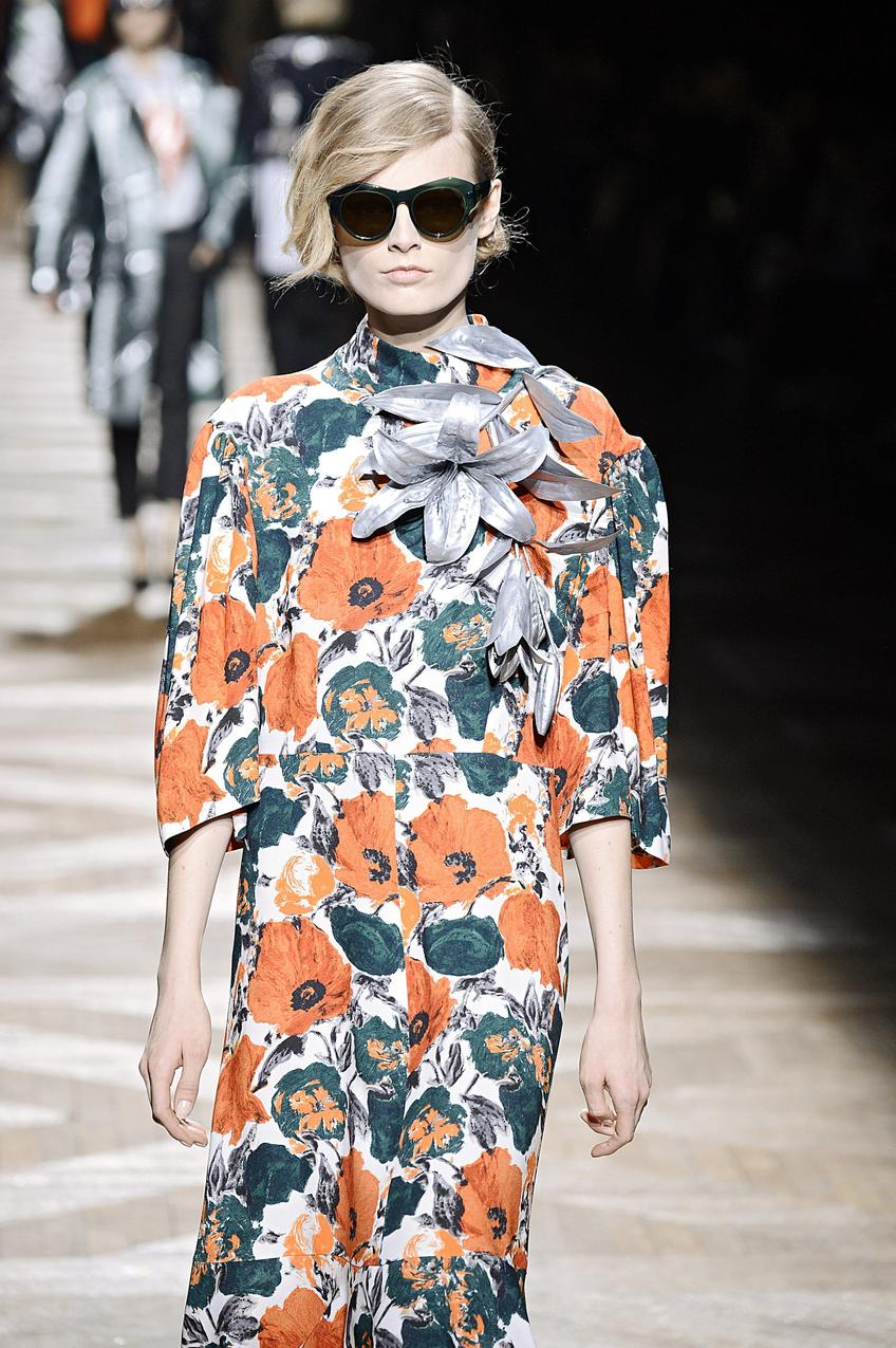 Dries Van Noten - Runway RTW - Fall 2014 - Paris  / Getty Images