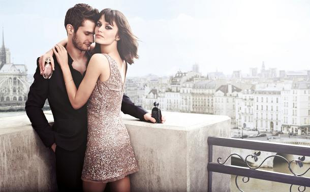 Marta Dyks z mężem w kampanii perfum Christian Lacroix