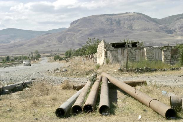 Górski Karabach, Agdam - miasto widmo