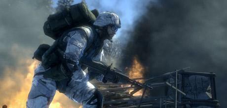 """Screen z gry """"Battlefield: Bad Company 2"""""""
