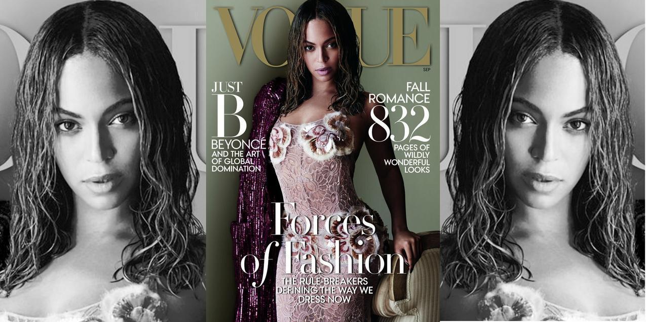 Beyonce we wrzesniowym wydaniu Voguea
