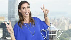 Tak seksowna Pennetta świętowała triumf w US Open