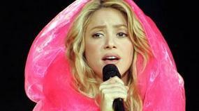 Shakira w sukni balowej