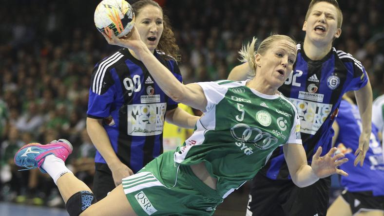 Heidi Löke ismét a győriek egyik legjobbja volt /Fotó: MTI-Kovács Anikó