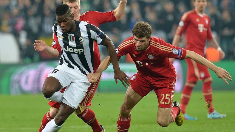 Paul Pogba (balra) és társai 2013-ban elbukták Thomas  Müller és klubja ellen a BL-csatát. Most jobbat remélnek