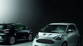 Aston Martin Cygnet – limitowany, drogi, czarno-biały