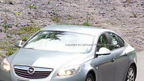 Zdjęcia szpiegowskie: Opel Vectra-Insignia