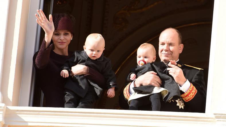 A kis Thérese Marie és Jacques hosszas várakozás után született meg, Charlene és Albert legnagyobb örömére /Fotó: Northfoto