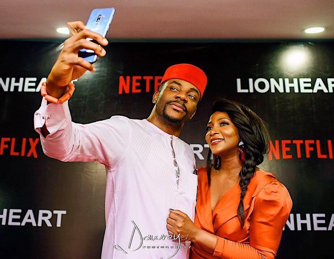 Genevieve premieres 'Lionheart' in Nigeria after a week long controversy. [Instagram/genevievennaji]