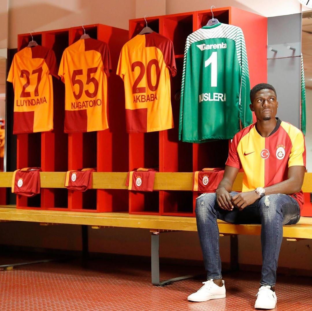 Valentine Ozornwafor has joined Galatasaray (Instagram/Galatasaray)