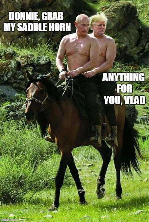 Még a Terminátor szerint is úgy viselkedett Trump, mint Putyin rajongója /Fotó:Imgflip