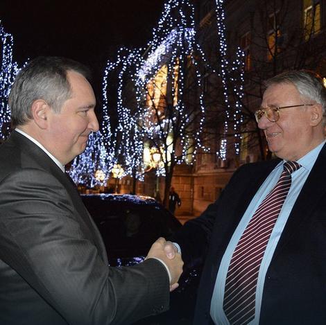 Gost iz Rusije pri srdačnom susretu s Vojislavom Šešeljom