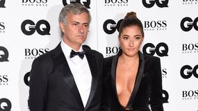 Jose Mourinho z córką na gali GQ Men of the Year Awards