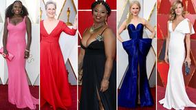 Oscary 2018. Ponętne dekolty gwiazd na czerwonym dywanie