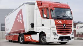 Mercedes Efficiency Run - pomysł na ciężarówkę przyszłości!