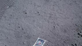 Rodzinne zdjęcie zostawione na Księżycu