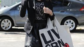 Jessica Alba na czarno