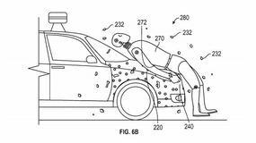 Google z pomysłem przyklejania pieszych do samochodów