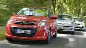 Citroen C1 kontra Kia Picanto i Volkswagen UP! - Który jest mistrzem miejskiej jazdy?