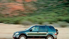 Mercedes ML - Gwiazda na trójkę