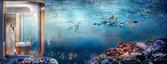 Projektanci zapewniają, że po zejściu pod wodę widoki będą niesamowite