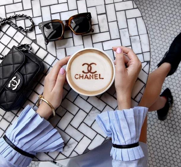#DesignerLatte-modna kawa na Instagramie