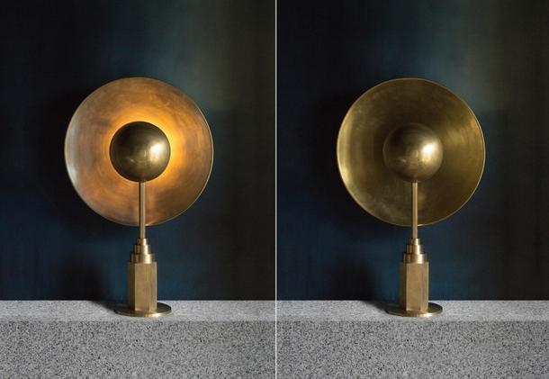 Niezwykłe lampy z mosiądzu