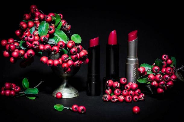 Czerwona pomadka idealna na Walentynki