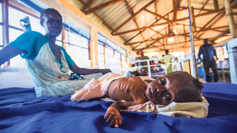 A szárazság az egész földön hasonló helyzetet teremthet, mint amilyen most a harmadik világban, Etiópiában van /Fotó: AFP