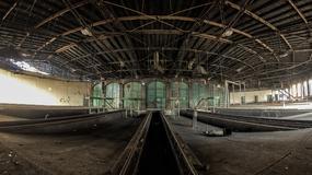Parowozownia Gniezno - opuszczony zabytek techniki kolejowej