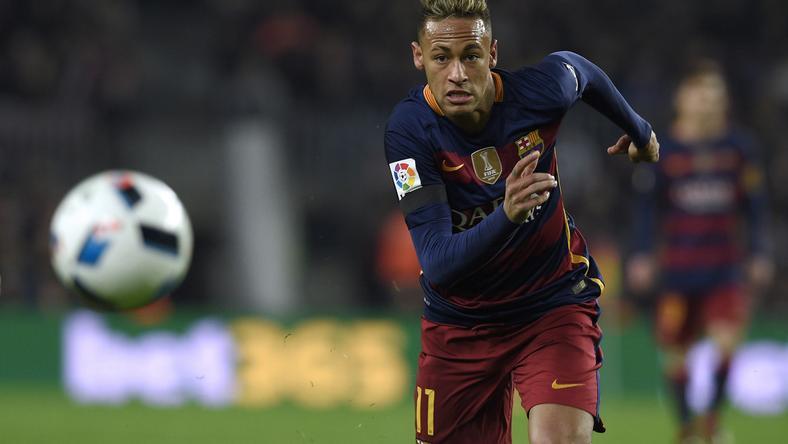 Neymar beszólt a médiamunkásoknak /Fotó: AFP