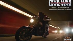 Motocykle Harley-Davidson w Captain America: Civil War