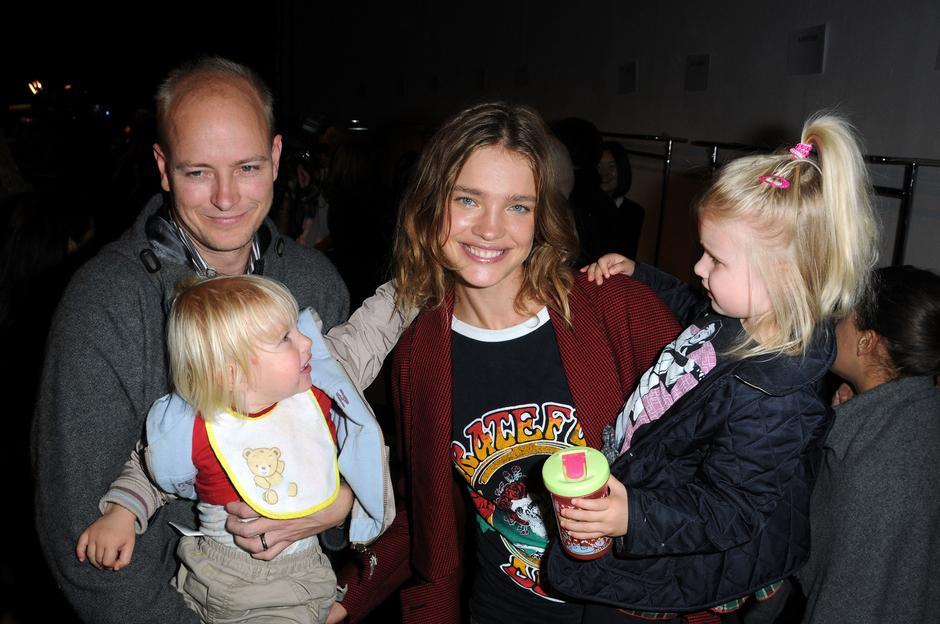 Natalia Vodianova z rodziną