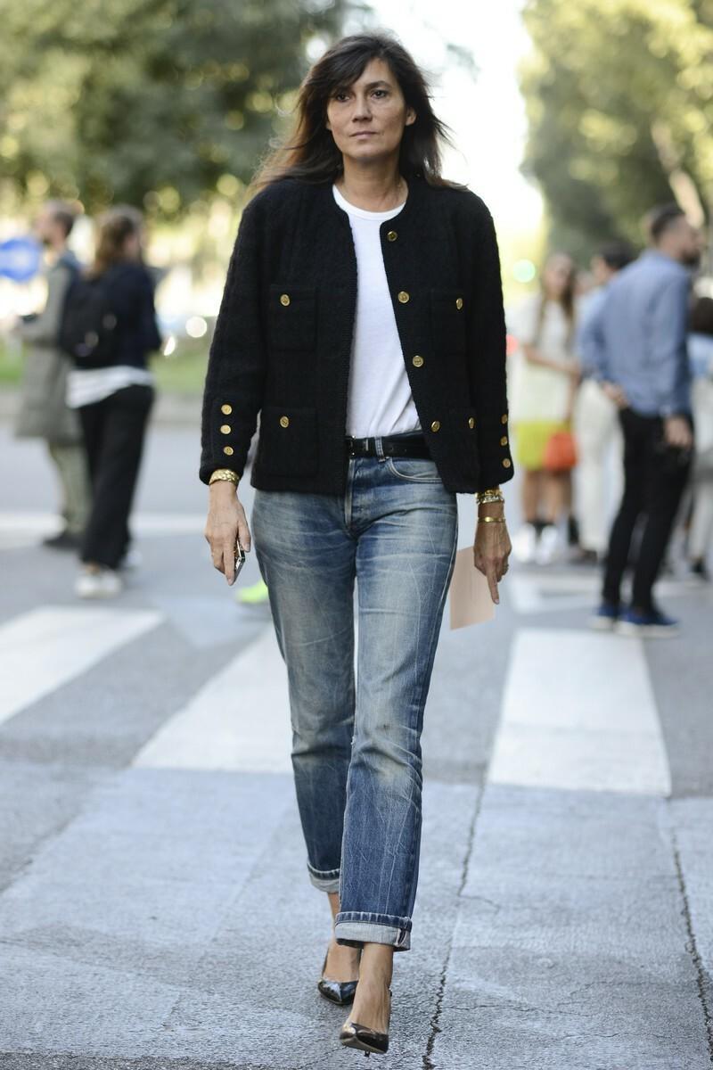 """Klasyka w stylu szefowej """"Vogue"""" Paris"""
