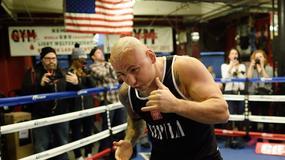 Artur Szpilka przygotowuje się do walki z Wilderem