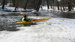 Zimowy Spływ Kajakowy Wełna 2011