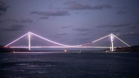 Otwarcie spektakularnego mostu nad Bosforem. Konstrukcja ustanawia światowe rekordy