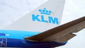 Pasażer linii lotniczych KLM sam się okaleczył, a następnie dźgnął drugiego pilota nożem