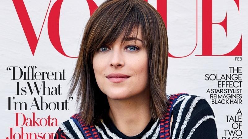 """Dakota Johnson na okładce amerykańskiego """"Vogue"""""""