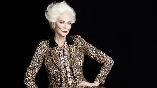85-letnia Carmen Dell' Orefice ponownie w roli modelki