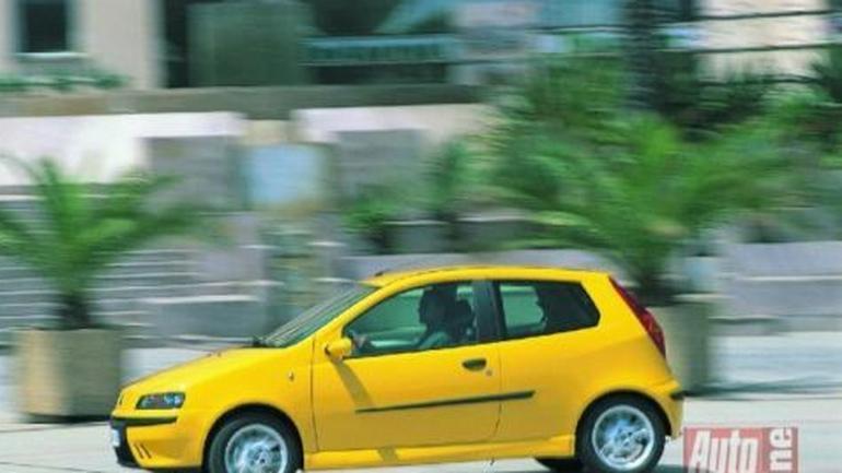 Fiat Punto HGT - Jak przyklejony