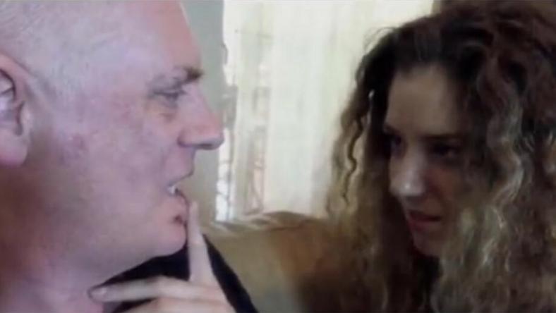 Jelenet a professzor egyik filmjéből