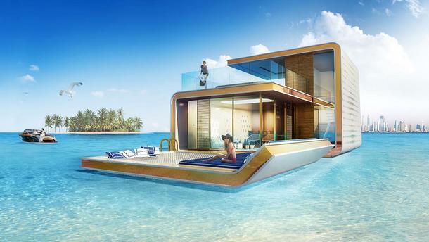 Pływające domy